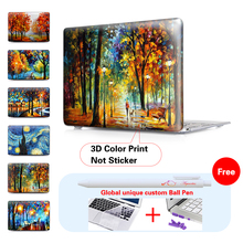 Nature Oil Painting Laptop Cover Case for Apple MacBook Air 11 13 Pro Retina 13 New 12 inch Hard Shell Protective Case