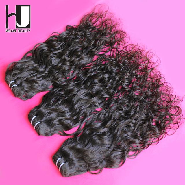 Virgin Brazilian Hair Water Wave 3pcs/Lot Brazilian Hair Weave Bundles Good Price Brazilian Virgin Hair Free Shipping