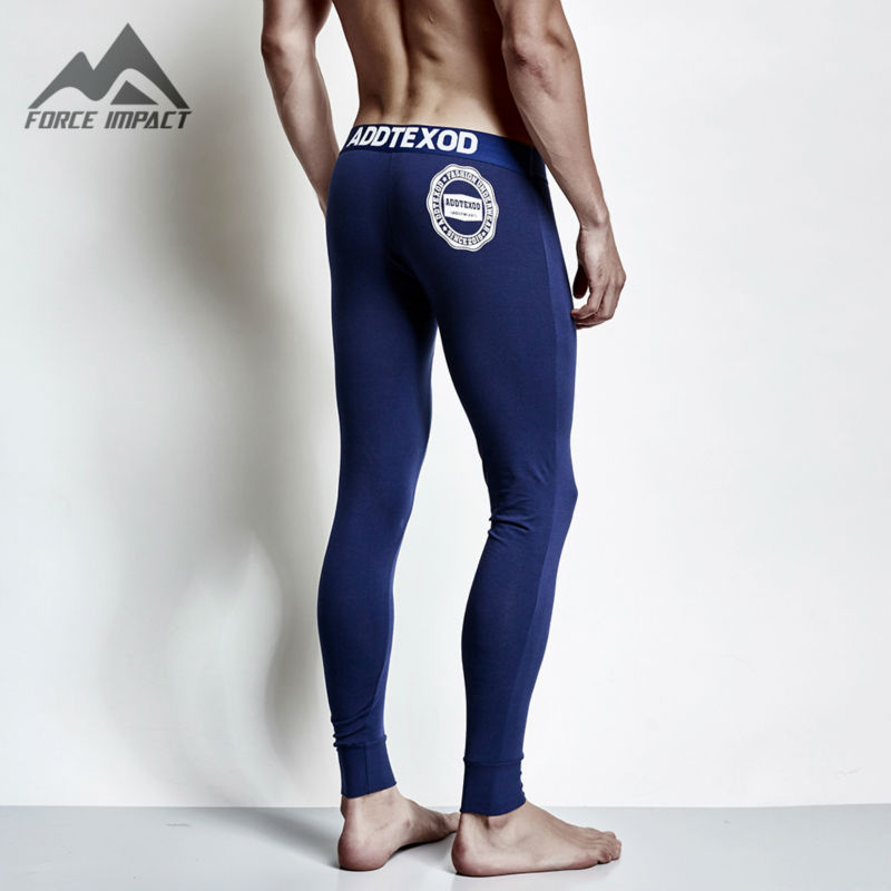 2017 New Cotton Men's Long John Pants High Quality Thermal Long Johns Underpants for Men Winter Autumn Bottom Long Johns DX001(China (Mainland))