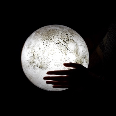 Remote control moon light decorative hanging lamps wall lamp bedroom lamp creative night light room ambience(China (Mainland))