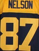 87 Jordy Nelson shirts jerseys 27 eddie lacy Jersey 12 Aaron Rodgers 52 Clay Matthews 4 Brett Favre 18 Randall Cobb jersey,(China (Mainland))