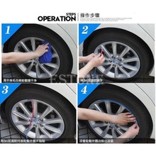 Free Shipping Anti-Scratch Wheel Rim Edge Protection Guard Tape For Cars/Motorbikes Green(China (Mainland))