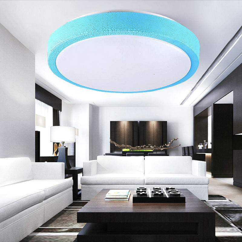 Lamp plafond woonkamer for Badkamer verlichting plafond