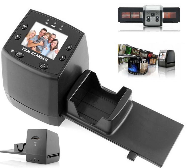"100% NEW USB 2.4""LCD Digital 35mm Film Converter Slide Negative Photo Scanner Free shipping(China (Mainland))"
