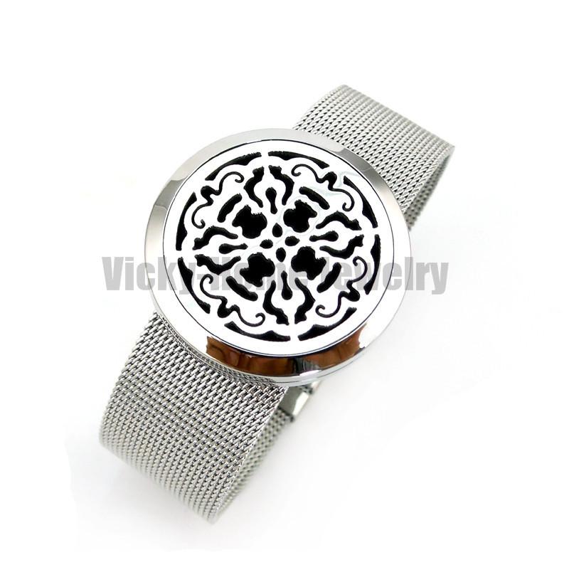 VH-PDL156-6 Diffuser Locket Bracelet