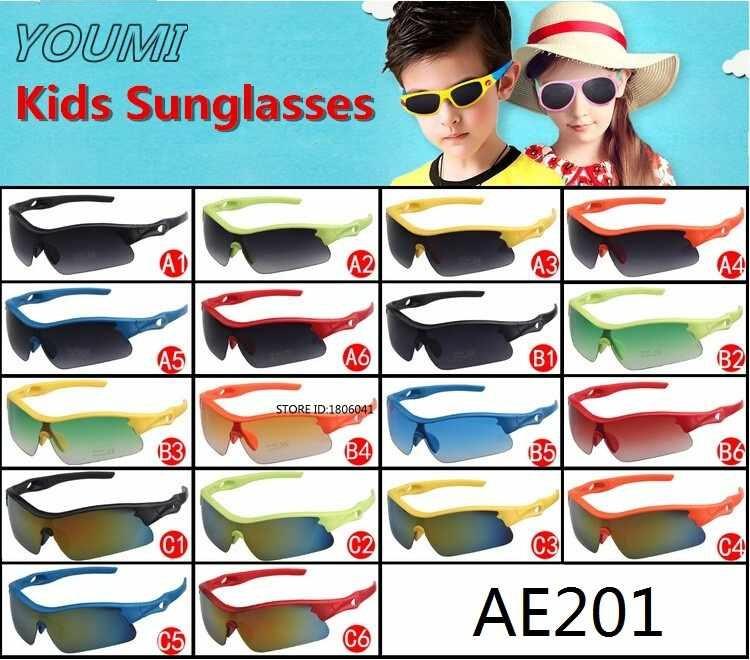 Children Sunglasses Outdoor Sport Sunglasses UV400 Candy Fashion Cycling Riding Sun Glasses Child Kids Boy Girl Eyewear(China (Mainland))