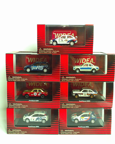 2015 Germany WIDEA 1:87 alloy model cars WRC racing Ford Fawkes ESCORT series(China (Mainland))