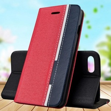 Buy i7plus i6s Red Black Hit Color Leather Case Wallet Stand Book Flip Cover Apply iphone 6 6s 7 7 plus Cellphone Capas nh307 for $3.48 in AliExpress store