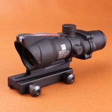 Trijicon ACOG 4 X 32 источник красной подсветкой сфера черный цвет тактический охота прицел