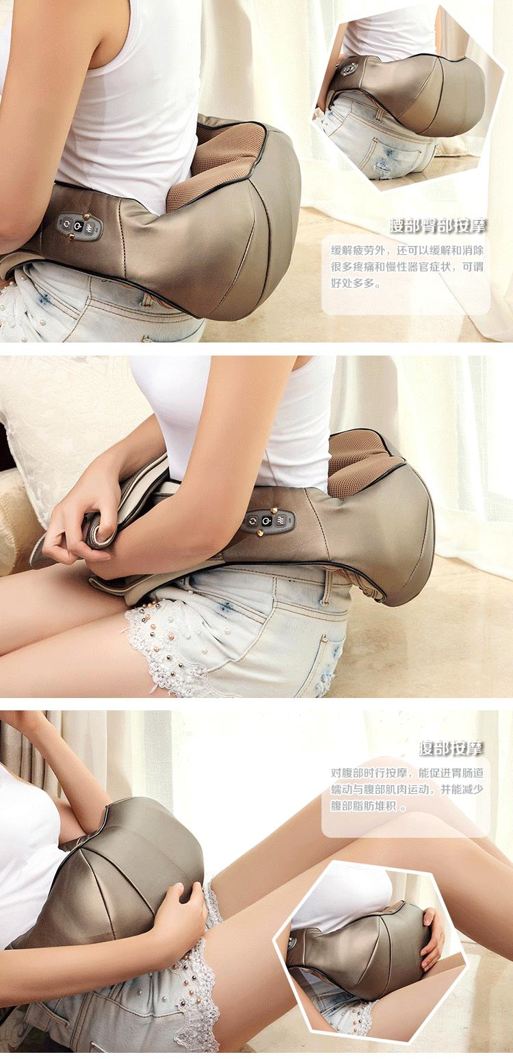 DHL Free Shipping Multifunction health care car home pillow massager acupuncture kneading neck shoulder massager  DHL Free Shipping Multifunction health care car home pillow massager acupuncture kneading neck shoulder massager  DHL Free Shipping Multifunction health care car home pillow massager acupuncture kneading neck shoulder massager