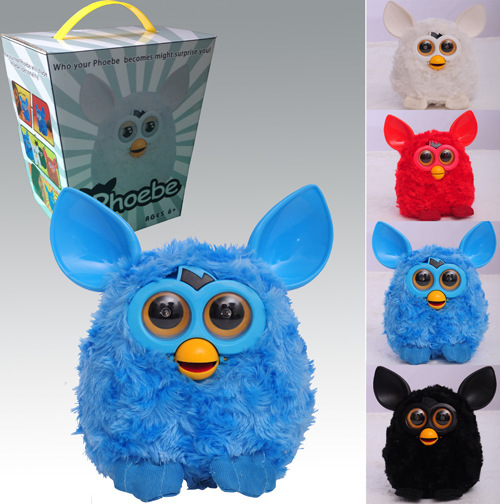 2015 Baby Toys Phoebe Russian Learning Machines Talking Firbi Plush Toy Mini Firby Boom Electric Toys Pet Furbiness boom(China (Mainland))