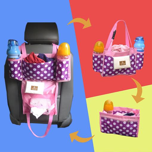Car back seat organizer storage bag travel accessories 12