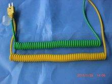 Retráctil Sensor Cables para termopares, RTDs y termistores, conector del cable, desconexión rápida conector