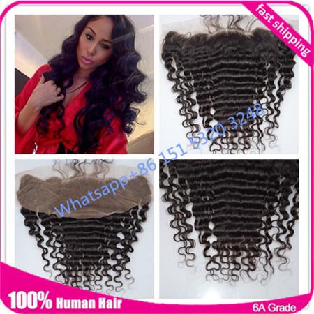 Peruvian virginy hair lace frontal closure 13x4 deep wave lace frontal closure with baby hair Ms Lula hair lace frontal closure<br><br>Aliexpress