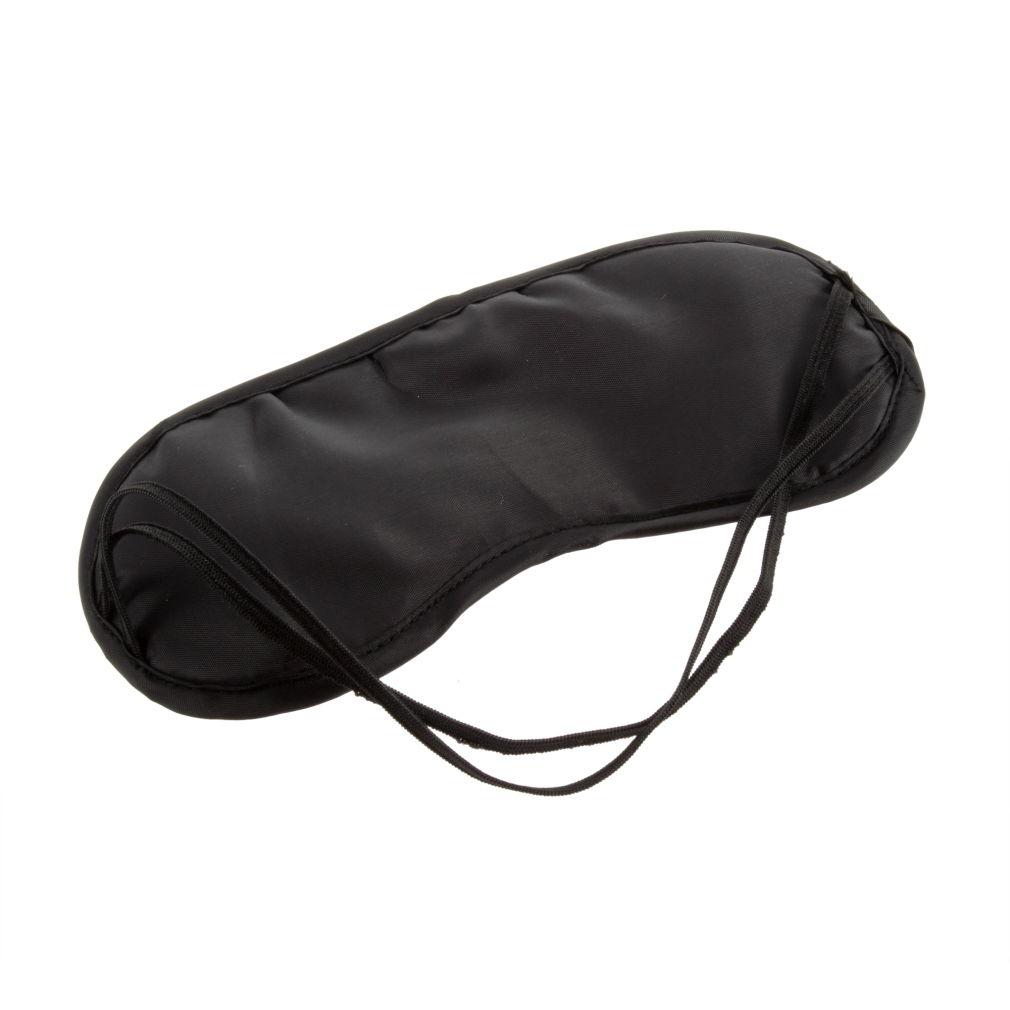 Venda quente mais barato 2 conforto casa de viagem para dormir pala preta máscara capa Blindfold Winker escudo 2 PCS