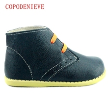 COPODENIEVE Chaussures enfants boys girls snow fashion Martin boots single low short botas kids baby nina boys autumn shoeS(China (Mainland))