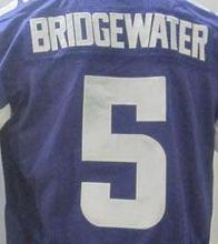 #5 Teddy Bridgewater Jersey Elite Football Jersey Best quality Embroidery Stitched Logo Sports Jerseys Accept Mix Order(China (Mainland))