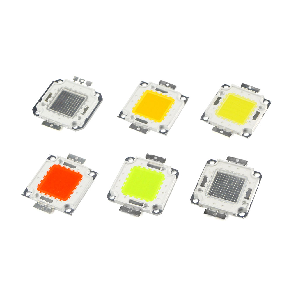 10W 20W 30W 50W 100W High Power Integrated LED lamp Chips SMD Bulb For Floodlight Spot light Warm white/Red/Green/Blue/RGB(China (Mainland))