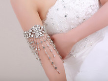 Shining sequins lady girl Sexy party wedding princess girl princess girl armband arm decoration ornament free shipping wholesale(China (Mainland))
