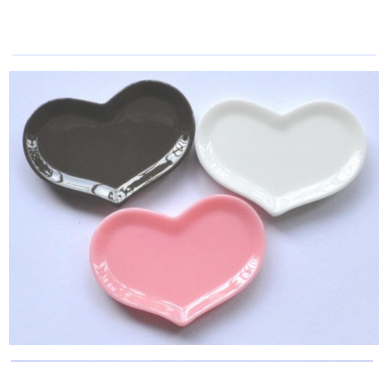 20PCS Resin Heart Shaped Plate For DIY Decoration Kawaii Cabohon Mini Resin Plates Flatback Pink White Chocolate(China (Mainland))