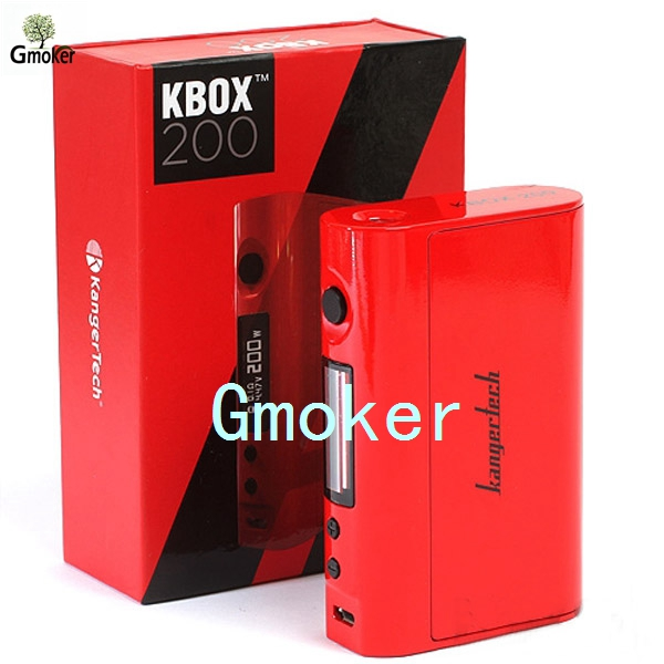 5PCS 100% Original Kanger KBOX 200W Temperature Control Variable Wattage Box Mod Powered by 18650 Battery vs kbox 120w Cuboid<br><br>Aliexpress