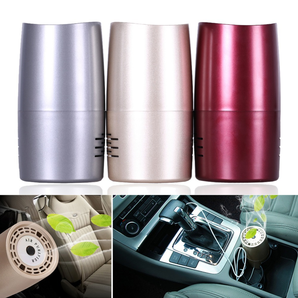 Auto Car Air Purifier Vehicle Mounted Air Cleaner Negative Ion Air-cleaner E1Xc(China (Mainland))