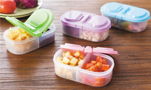 Kitchen 2 Lid Airtight Sealed Food Storage Containers Freshness Preservation Crisper Case BA957-959 free shipping(China (Mainland))