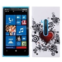 HOT Fashion flower pattern plastic phone case for Nokia lumia 920