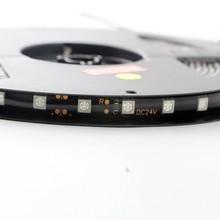 1 lot 12V 24V 5M 5050 SMD 300 LED Waterproof Flexible Light Strip PCB Black For Christmas Decoration Stage Lights(China (Mainland))