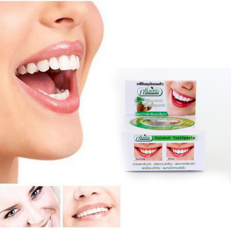 Good Quality Dentifrice toothpaste whitening teeth remove smoke tea black yellow stains plaque to halitosis Dental Products 10g