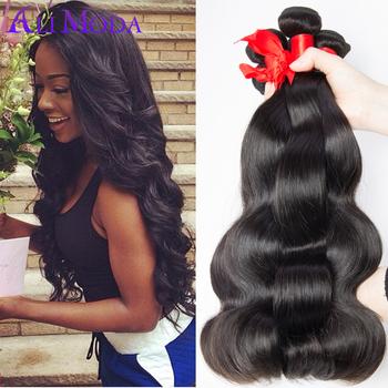 6A Ali moda hair Malaysian Virgin Hair 4pcs lot Unprocessed Malaysian Body Wave Human Hair Weave Bundles Free Shipping