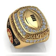 Factory Price 2016 New Arrival NCAA 2015 Alabama Crimson Tide Football National Championship Ring Replica Drop Shipping(China (Mainland))