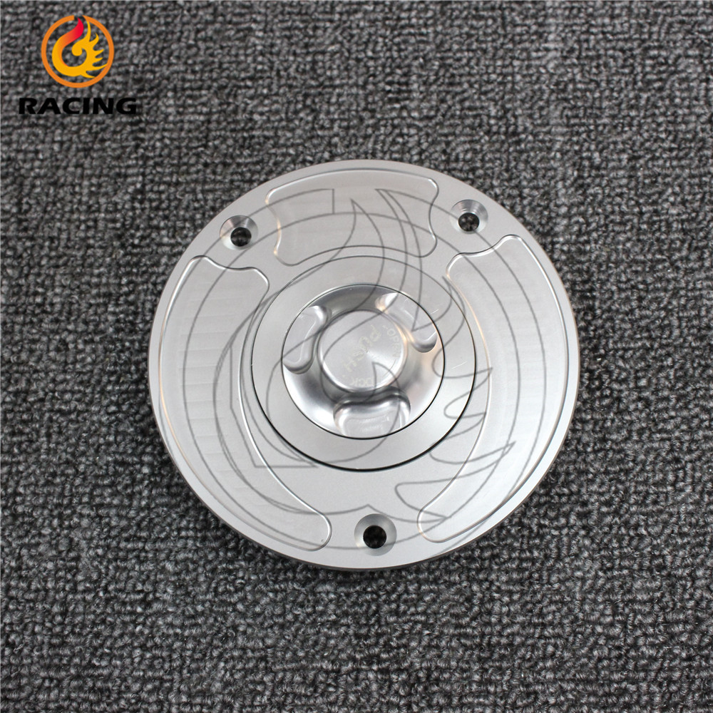 silver color motorcycle accessories  fuel tank cover aluminum alloy fuel gas tank cap For DUCATI Monster S4R S2R all years<br><br>Aliexpress