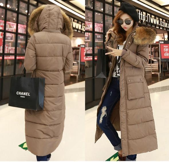 Womens Long Parka Coat - JacketIn