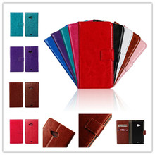 Case For Nokia Microsoft Lumia 535 PU Leather Wallet Case Cover TPU Silicone Rubber Cell Phone Cover(China (Mainland))