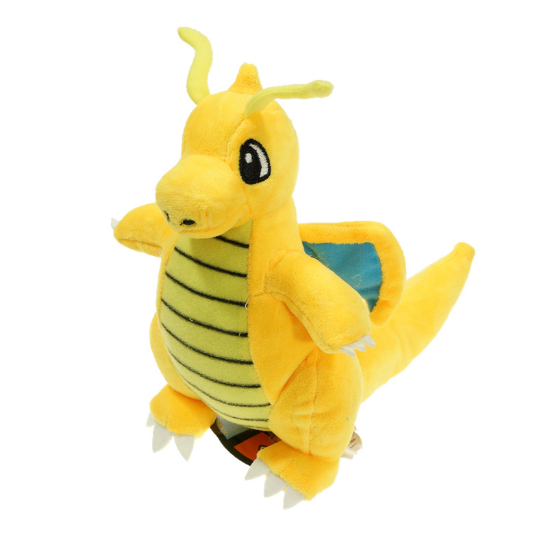 "Plush Toy Pikachu Dragonite 9"" Cute Collectible 23cm Soft Charizard Stuffed Animal Doll Peluche For Children's(China (Mainland))"
