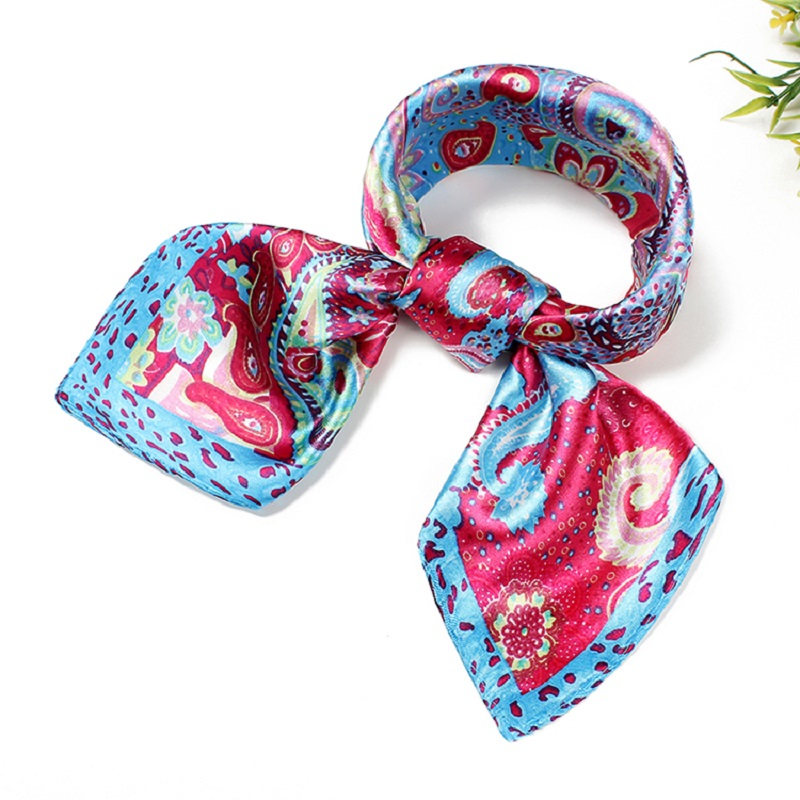 buy wholesale small square silk scarves from china