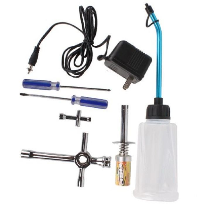 HSP Spare parts 80142 Nitro Starter Tools Kit Set for R/C Car EU AU US AK for choose(China (Mainland))