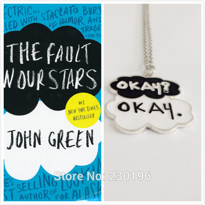 The Fault in Our Stars Set of Two Okay Necklace Cloud Friendship Okay colar necklaces for Men &amp; Women fashion jewelry<br><br>Aliexpress