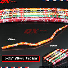 "Buy Motorcycle 1 1/8"" 28mm Handlebars Handle Tubes Fat Bars KTM SX SXF EXC XC EXC-F EXCF Dirt Bike MX Enduro Supermoto Road for $30.22 in AliExpress store"