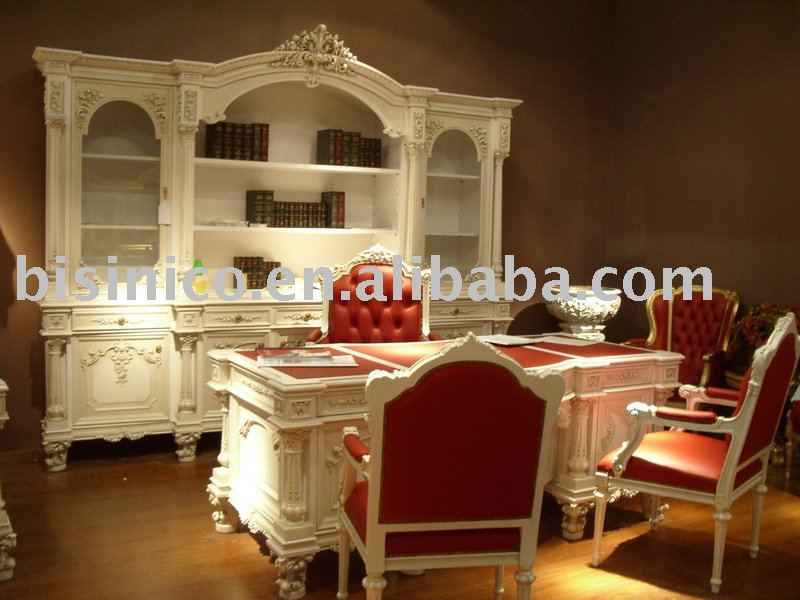luxury european style office desk and chair, office furniture(China (Mainland))