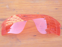 Crystal Pink Replacement Lenses For RadarLock Path Sunglasses Frame 100% UVA & UVB Protection