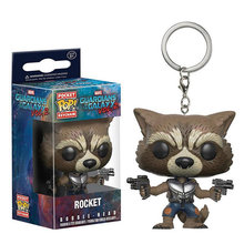 FUNKO POP Personagens de Bolso Keychain Pop Oficial The Avengers Marvel Super Hero Action Figure Collectible Modelo Brinquedos de Natal(China)