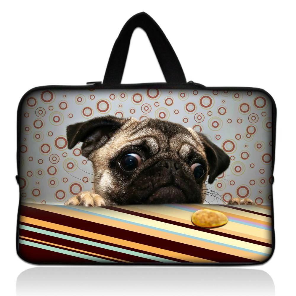 Squishy Laptop Cases : Cute Pug 14