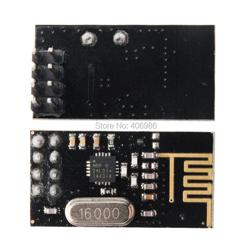 4pcs /Lot  NRF24L01+ 2.4GHz Antenna Wireless Transceiver Module for Arduino New H1E1