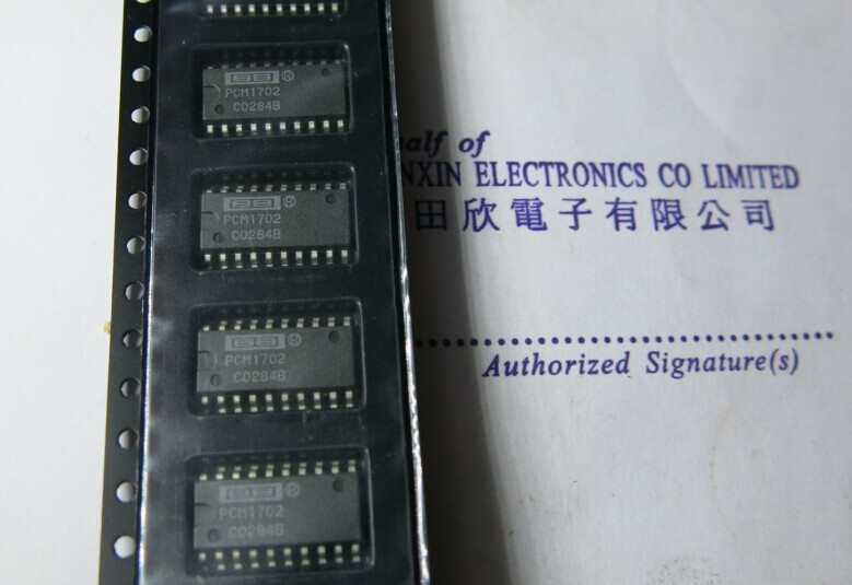 PCM1702 audio digital / analog converter One from the sale!(China (Mainland))