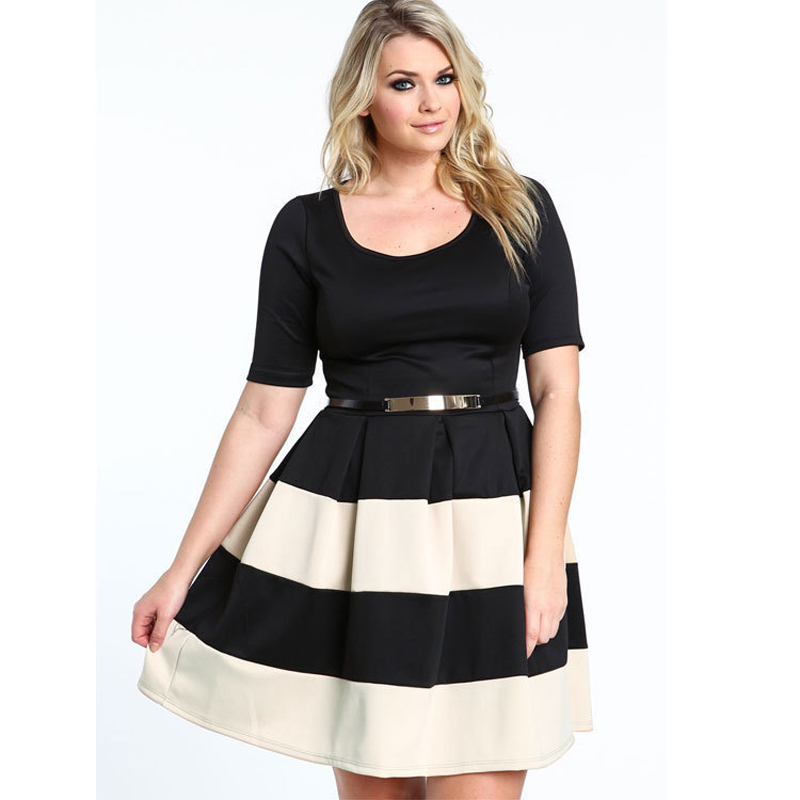 Дешевые платья больших размеров для женщин