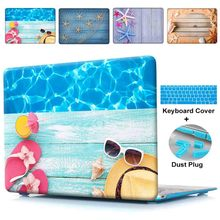 Buy Apple Macbook Air11 13 12 Summer Beach Seashore Print Hard Cover Case Pro 13 15 Pro 13 15 Retina Protect Shell for $22.94 in AliExpress store