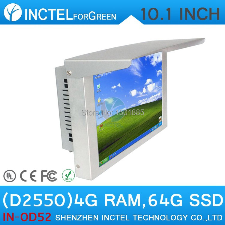 Desktop Computer All in One PC 10'' LED Gtouch AbonTouch High Temperature 5 wire Resistive IP61 standard(China (Mainland))