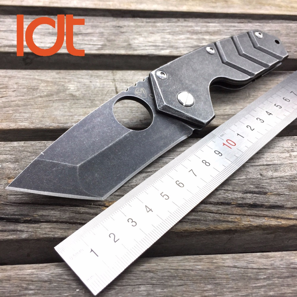Buy LDT Medford Starship Tactical Folding Blade Knives 8Cr13Mov Blade Steel Handle Hunting Knife Camping Survival Outdoor OEM Tools cheap
